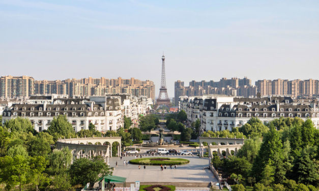China's very own 'fake Paris' – Tianducheng (天都城)