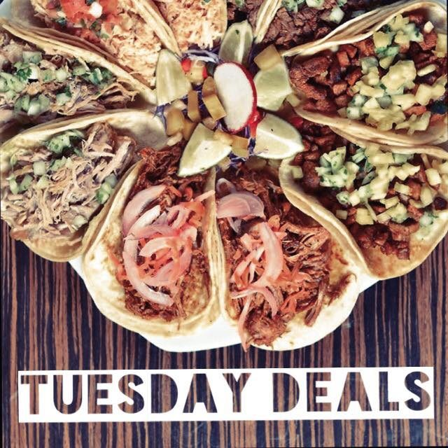 Tuesday Eat&Drink Deals